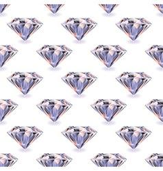 Diamond seamless repeat vector image