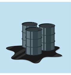 oil canister vector image vector image