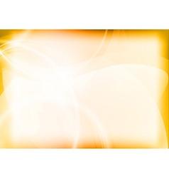background light orange vector image vector image