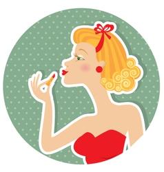 petro nice woman vector image vector image