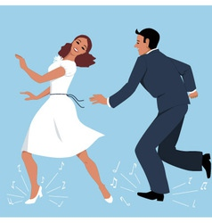 Tap Dancers vector image vector image