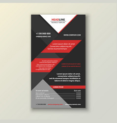 business brochure template vector image