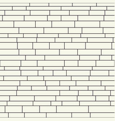 continuous brickwall vector image