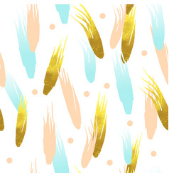 gold glitter seamless pattern golden background vector image
