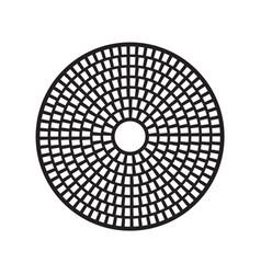Grinding disc diamond cup wheel vector