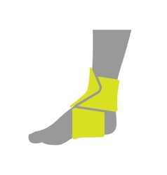 Icon of Elastic Orthopedic Compression Bandage for vector
