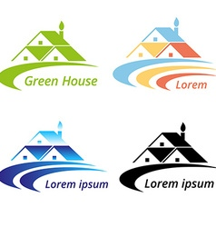 RoofHouse vector image
