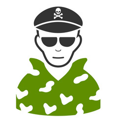 Swat soldier icon vector