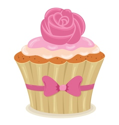 cupcake03 vector image vector image