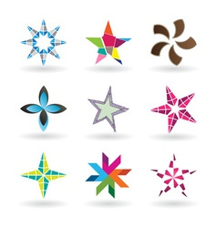 Creative Stars vector image