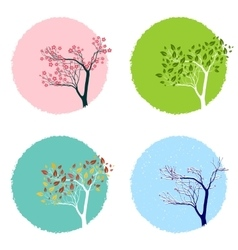 Four Seasons vector