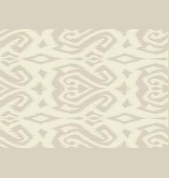 ikat geometric folklore pattern vector image