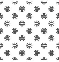 Minus pattern seamless vector