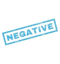 Negative Rubber Stamp vector