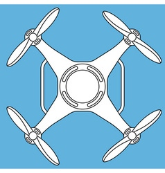 Quadcopter vector