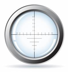 sniper site vector image