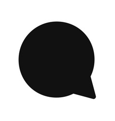 speech bubble icon in modern design style for web vector image