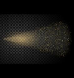 water spray fog vector image