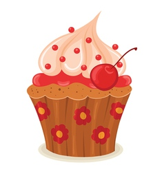 cupcake02 vector image