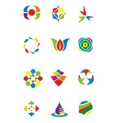 Coloured Design Element vector image vector image