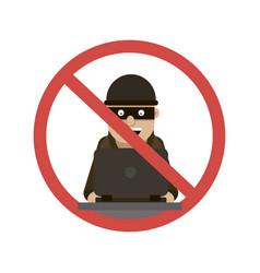 Hacker hacking logo vector