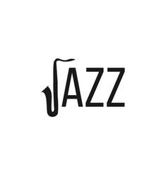 Jazz logo template design vector