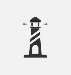 lighthouse icon vector image