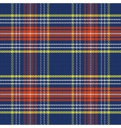 seamless blue and red Scottish tartan vector image