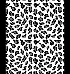 Seamless pattern of leopard vector