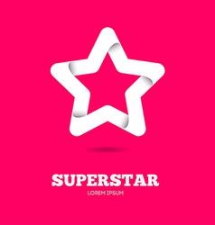 Star logo Star icon Leader boss star winner vector image