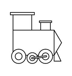 Train icon Toy design graphic vector
