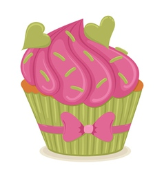 cupcake01 vector image vector image
