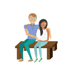 Couples relationship family vector