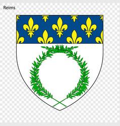 Emblem of reims vector