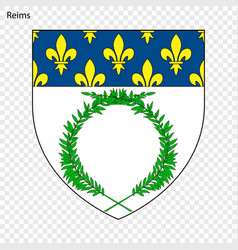 Emblem reims vector