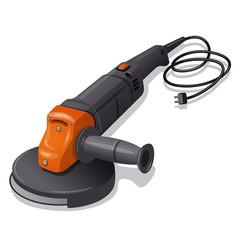 Grinder machine tool vector
