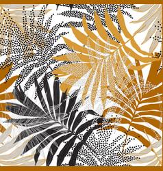 hand drawn silhouettes line art half tones vector image