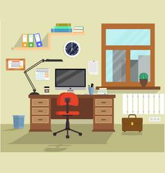 Office room vector