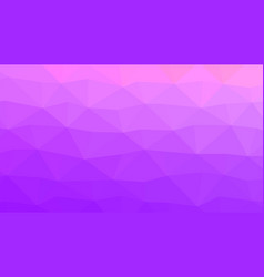 pastel purple and pink low poly backdrop vector image