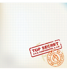 Secret stamps vector