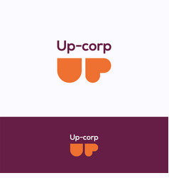 Up corp logo vector