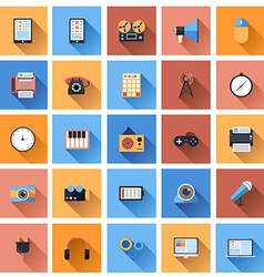 Device Icons 3 vector image vector image