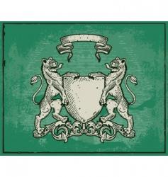 heraldic vector image vector image