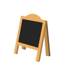 Restaurant blackboard advertising vector image