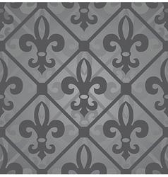 fleur-de-lis seamless vector image vector image