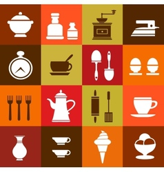 Elements of household vector image vector image