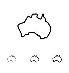 Simple Australia Map Outline.Australian Map Outline Vector Images Over 520