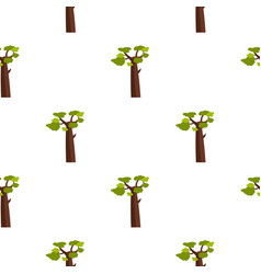 Baobab pattern seamless vector