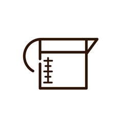 coffee maker fresh line design vector image