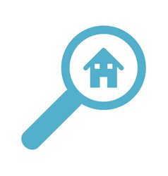 House search icon vector